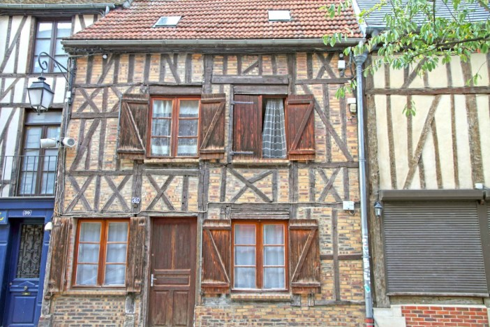 Half-timbered house in Beauvais - Stock Photos from Ana del Castillo - Shutterstock