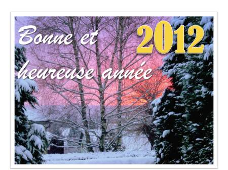 New Year's Eve in France