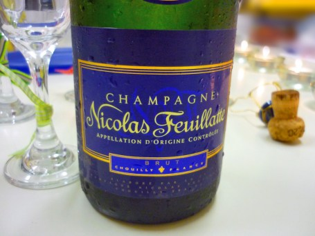 Bottle of champaign for New Year's Eve © French Moments