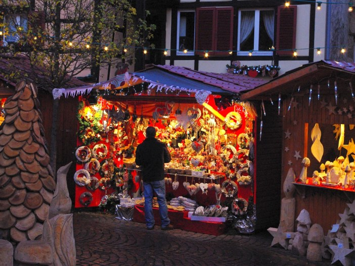 Most Beautiful Christmas Markets: Eguisheim © French Moments