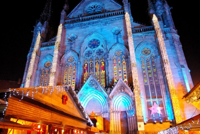 St. Etienne Church at Christmas, Mulhouse © French Moments