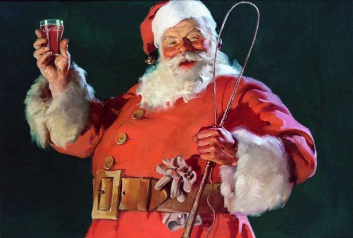 Santa by Coca-Cola