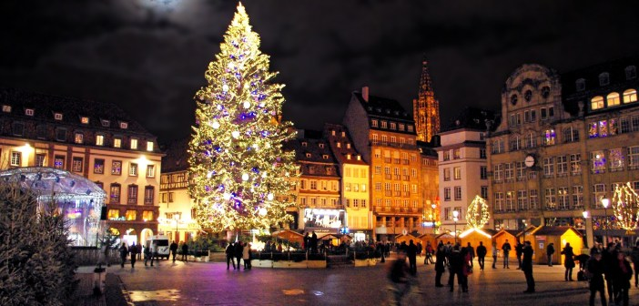 Strasbourg Place Kleber Christmas Tree © French Moments