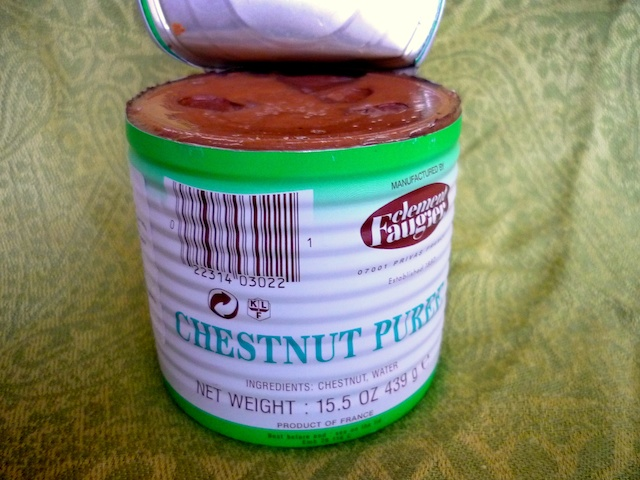 Chestnut Purée © French Moments