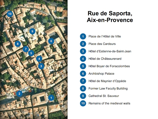 Aix En Provence Map Trendy Provence To The French Riviera Map With