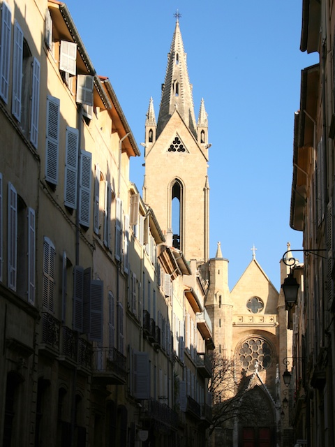 Saint-Jean-de-Malte, Aix-en-Provence  © Photo: Georges Seguin, licence [CC BY-SA 3.0], from Wikimedia Commons