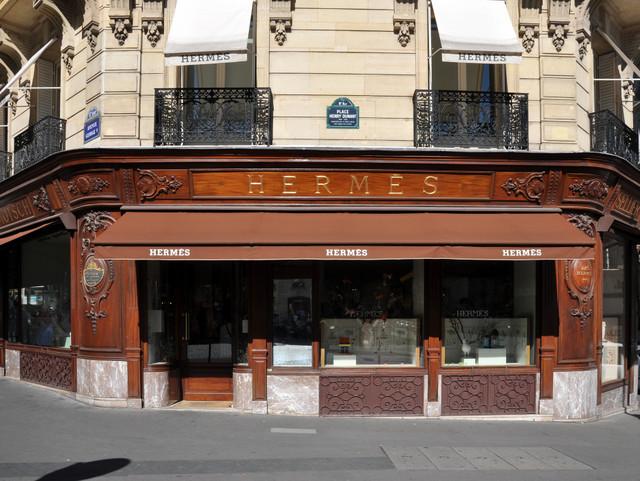 Hermès Store Paris © Moonik -  licence [CC BY-SA 3