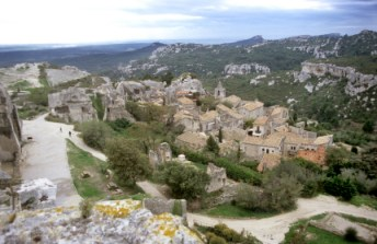 Picturesque village Les Baux de Provence