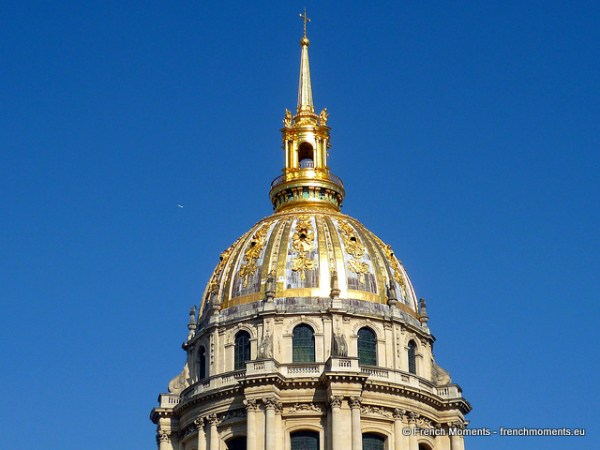 The golden dôme of the Invalids © French Moments