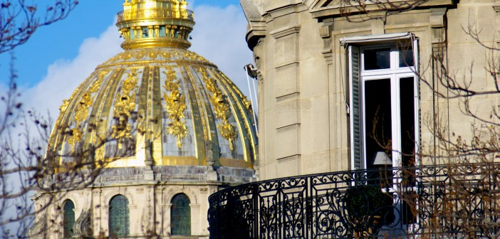 The dome of the Invalides, Paris © French Moments