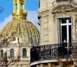 Invalides and Haussmann Building © French Moments