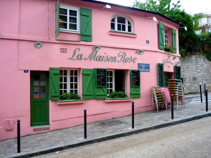 La Maison Rose in Montmartre © French Moments