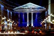 Madeleine Church and Rue Royale at Christmas © French Moments