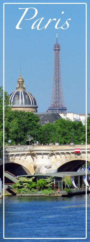 Paris Eiffel Tower Quais de la Seine