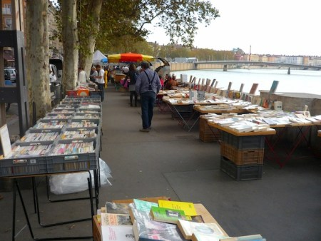 The Bouquinistes of Lyon © French Moments