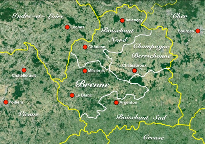 Brenne Map