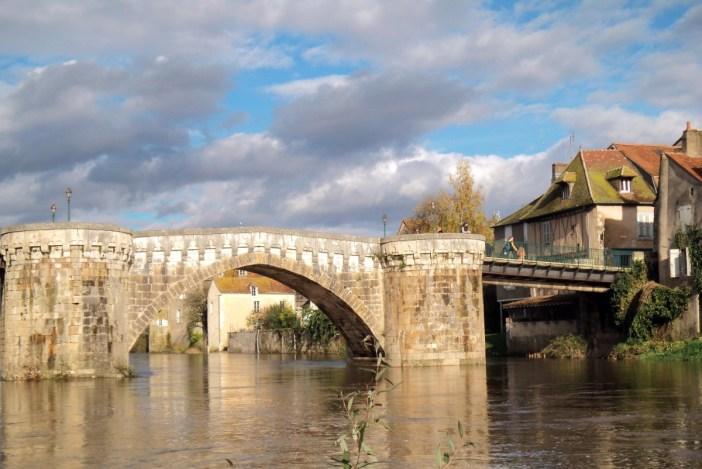 The bridge of Montmorillon - Stock Photos from Tisane - Shutterstock