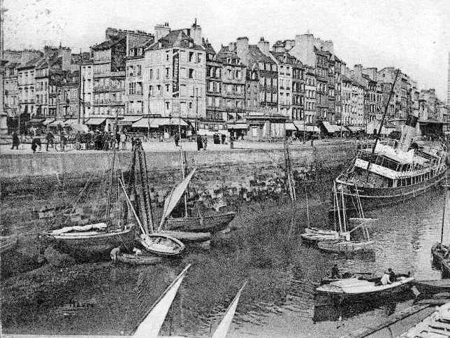 Le Havre, Quai de Southampton in the 1920s