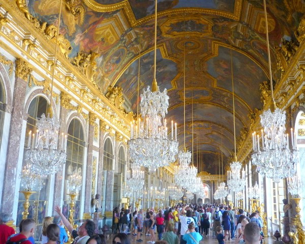 Hall of Mirrors Versailles French Moments