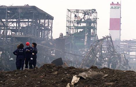 Explosion of AZF Factory © oliaklodvenitiens.wordpress.com