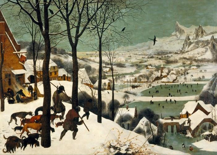 Pieter Bruegel: the Elder The Hunters in the Snow (1565)