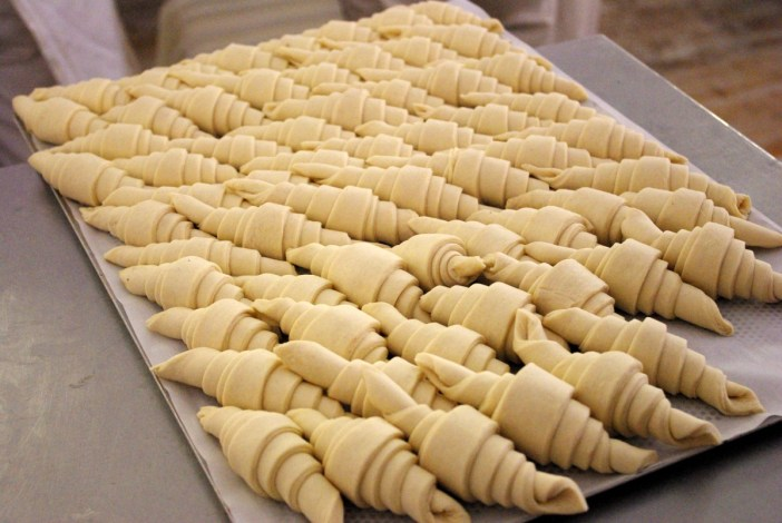 The making of croissant at the Paris Bread Festival © French Moments