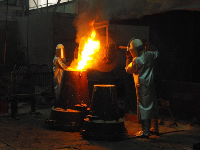 Casting a bell at the Paccard Foundry © French Moments