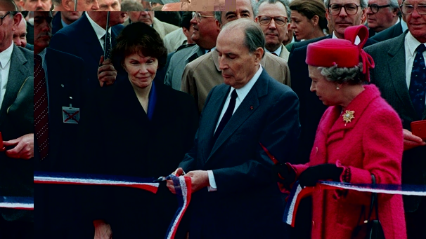 Inauguration Channel Tunnel 6 May 1994