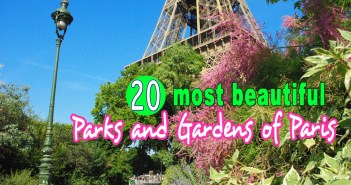 Parks and Gardens of Paris © French Moments