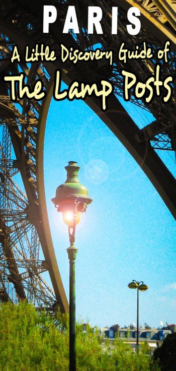 Lamp posts of Paris © French Moments