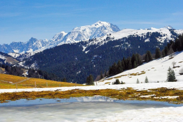 Mont-Blanc from the Aravis Pass © French Moments