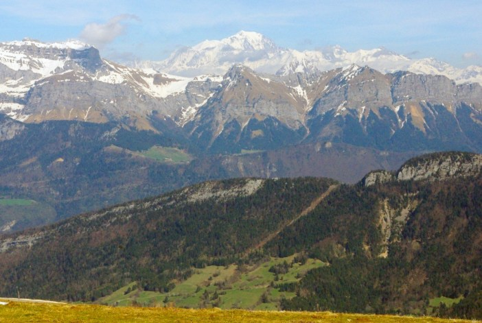 Mont-Blanc from Semnoz © French Moments