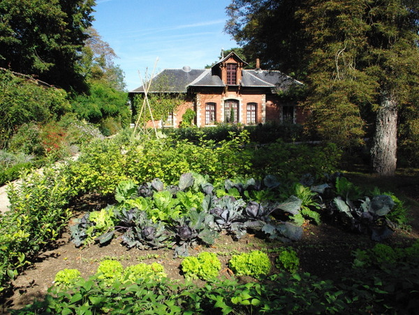 Kitchen garden, Parc de Bagatelle © French Moments