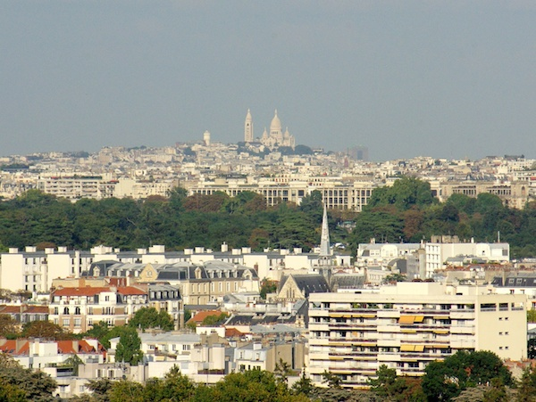 View of Montmartre from Parc de Saint-Cloud © French Moments