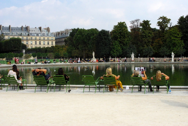 At the Tuileries Garden © French Moments