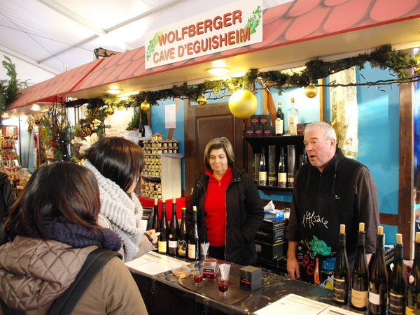 Alsatian Christmas Market in Gare de l'Est Paris 04 © French Moments