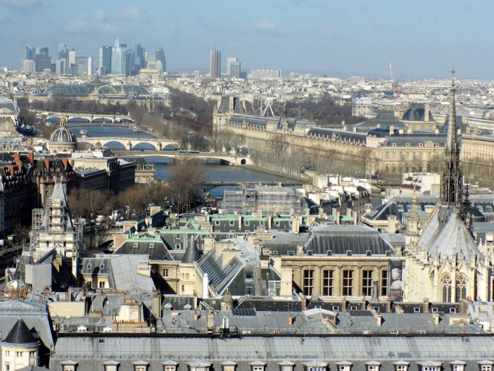 View of West Paris © French Moments