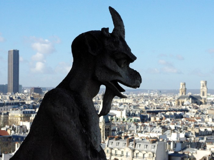 The Goat-shaped chimera, Notre-Dame © French Moments