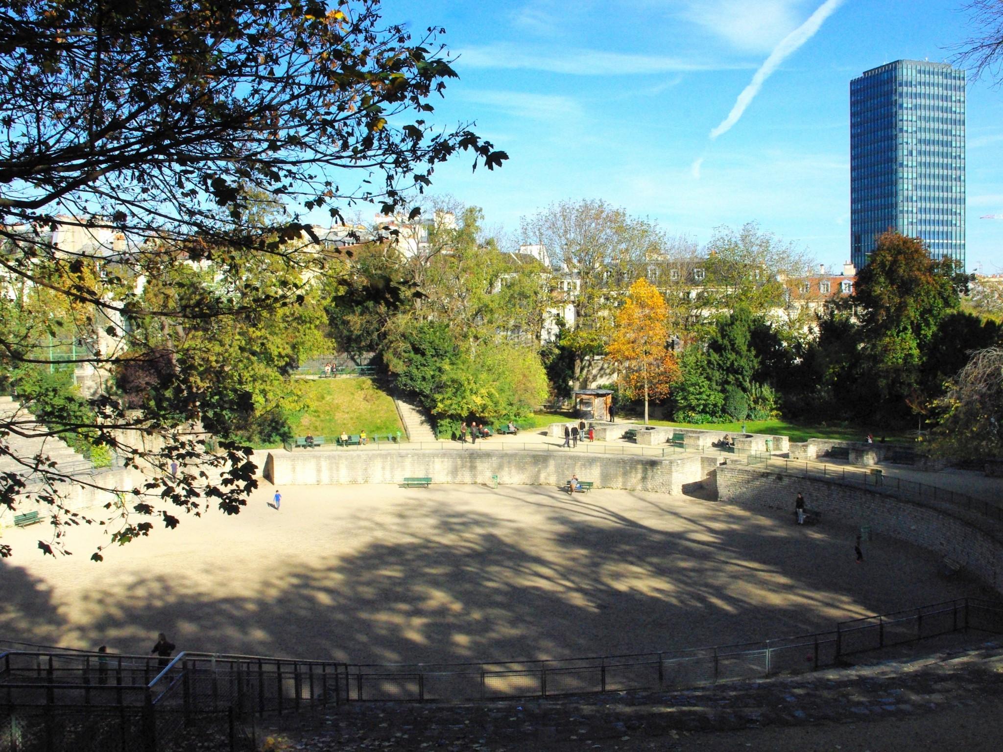 Arènes De Lutèce Paris French Moments