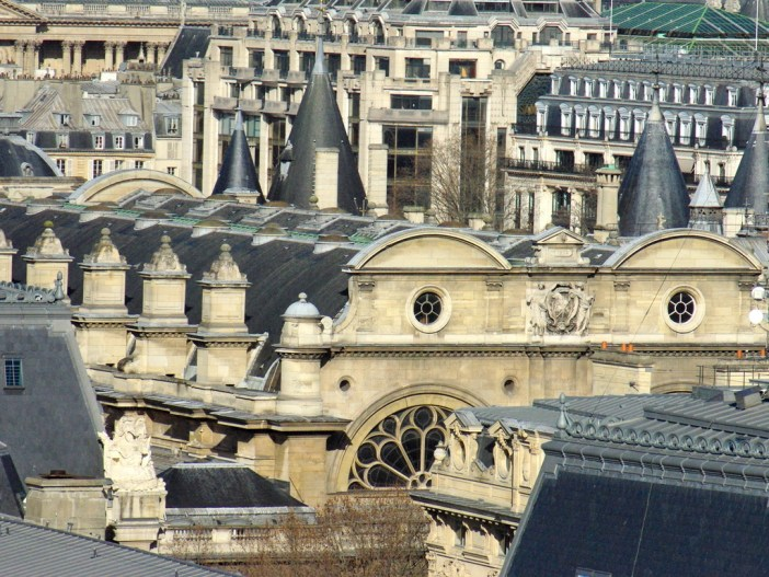 Conciergerie seen from Notre-Dame's towers © French Moments