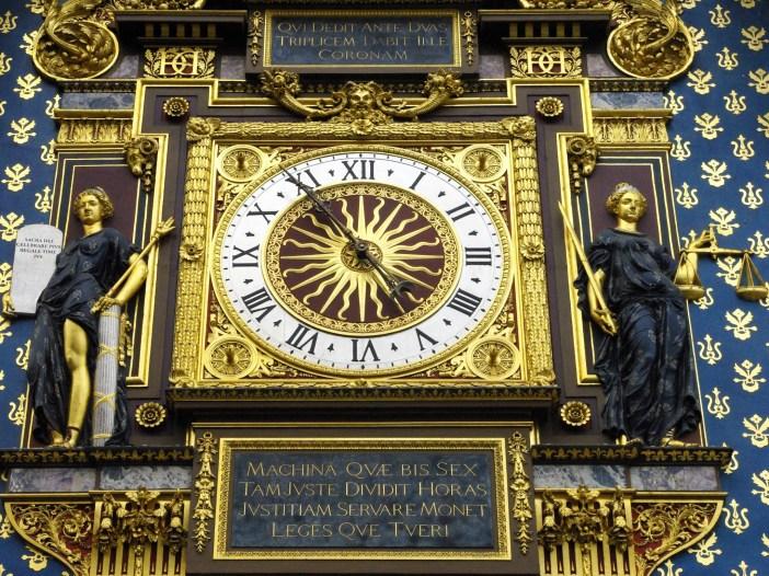 The Conciergerie clock, Paris © French Moments