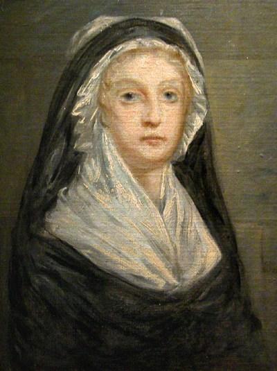 Marie-Antoinette in 1793