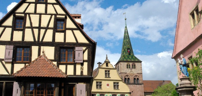 Turckheim on the Alsace Wine Route © French Moments