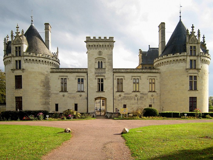Brézé Castle © Manfred Heyde - licence [CC BY-SA 3.0] from Wikimedia Commons
