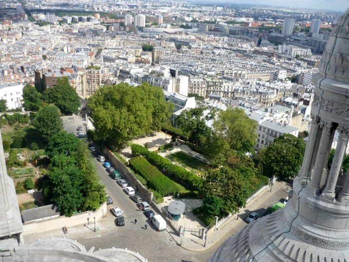 Parc de la Turlure in Montmartre © French Moments
