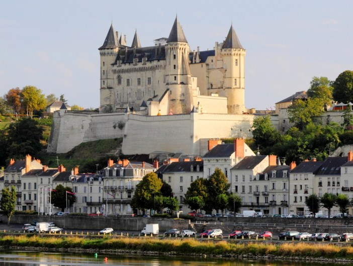Saumur Castle © Martin Falbisoner - licence [CC BY-SA 3.0] from Wikimedia Commons