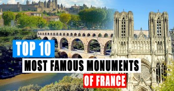 The Top 10 Most famous monuments of France © French Moments