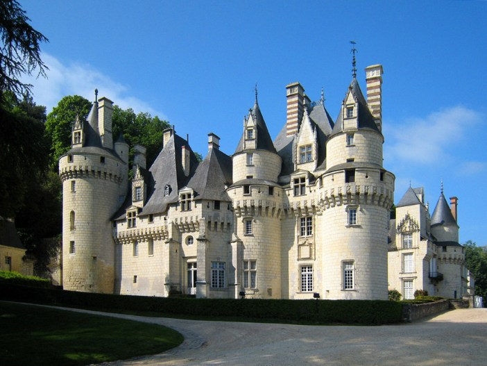 Ussé Castle © Manfred Heyde - licence [CC BY-SA 3.0] from Wikimedia Commons