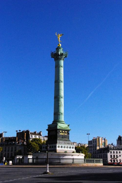 July Column Place de la Bastille © French Moments