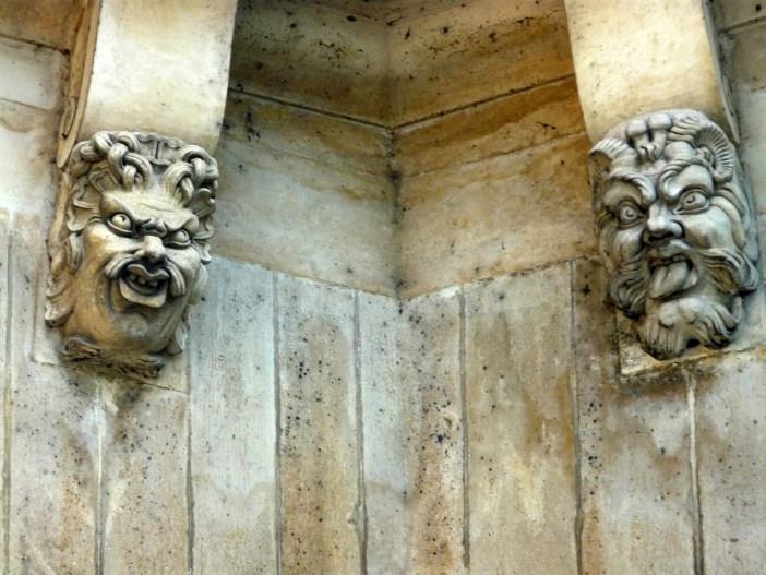 Mascarons on Pont-Neuf Paris © French Moments